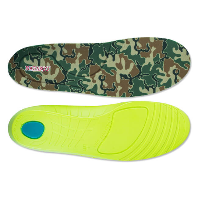 Antimicrobial Absorb Sweat Soft Cushioning Insole for Football