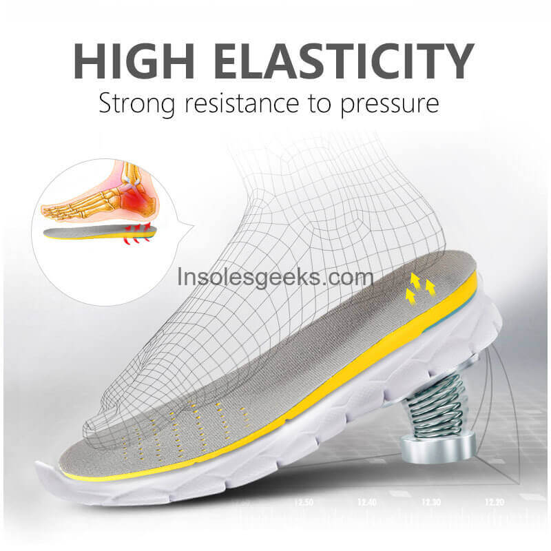 Personal Anti-Fatigue Insoles Memory Foam Shoe Inser