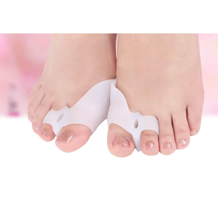 Silicone Gel Big Toe Separator Footmate Hallux Valgus Foot Massager