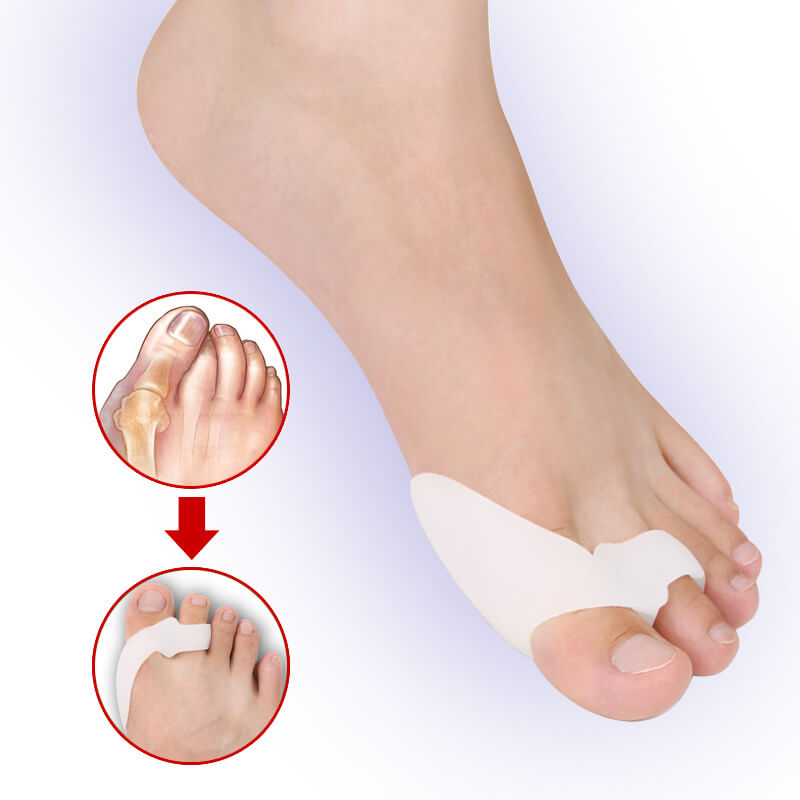 Gel Big Toe Separator Footmate Hallux Valgus Foot Massager