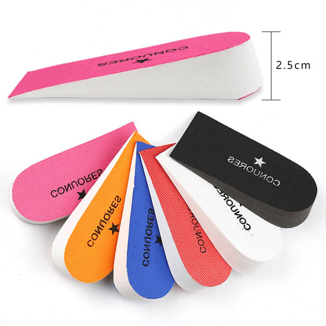 CONUORES 2.5CM EVA Increase Height Insole Inserts