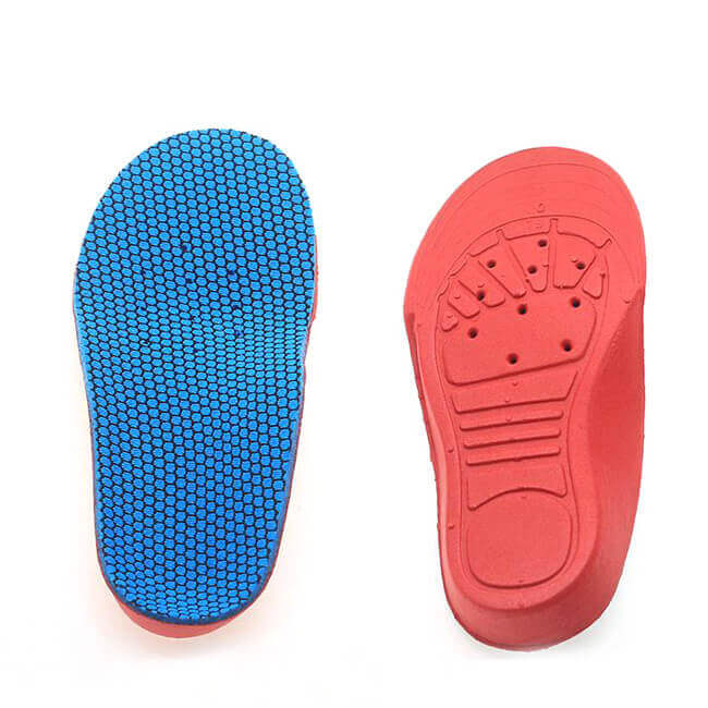 Pes Cavus Correcting Shoe Insoles for 5-12 Years Children