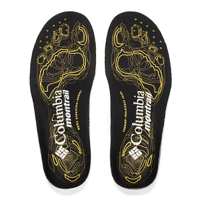 Replacement Columbia Montrail Thermo Moldable Foam Insoles