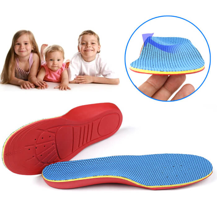 Children's Comfort Insole Orthotics Kidsinsole for Flatfoot