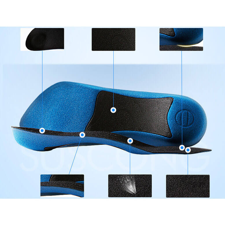 Arch Support Insoles Comfortale Shoes Pad for Men and Women
