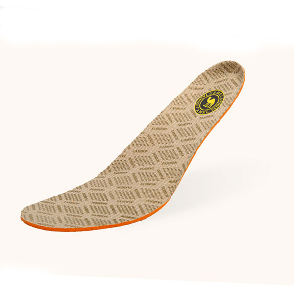 Comfortable Soft Breathable Warm Polyamide insoles yellow