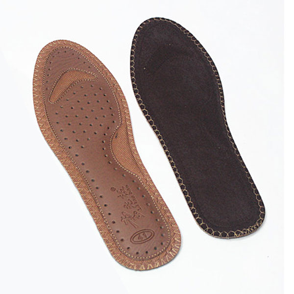 Comfortable Leather Insoles, Fiber Stress