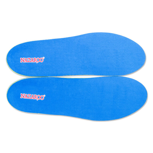 Deodorant Breathable Soft Silicone Insoles for Men