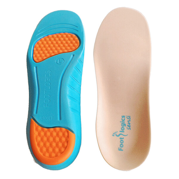 Footlogics Orthotics Insoles Arch Support PU Shoes Pad