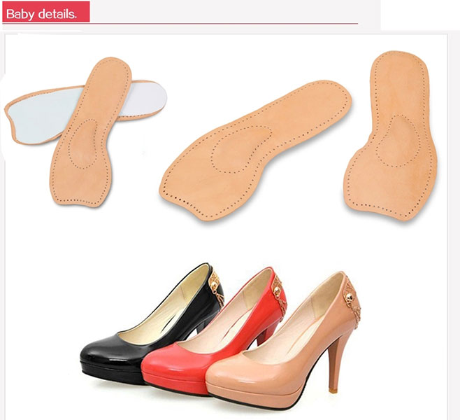 High Heels Shoe Insoles, Foot Arch Support Pad