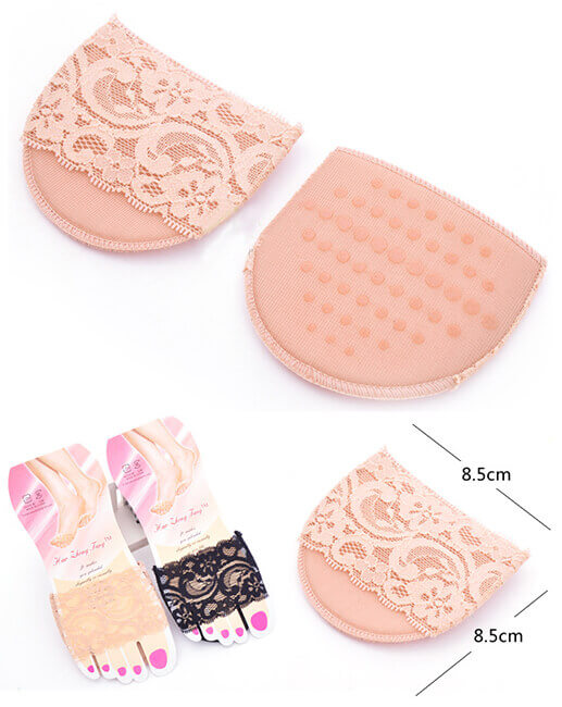 1 Pair Soft High Heels Shoe Insert Ball Mat Pad Insole for Foot Care