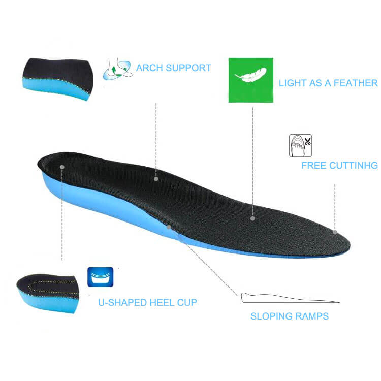 ELEFT Increase High Insole Improve Arch Feet