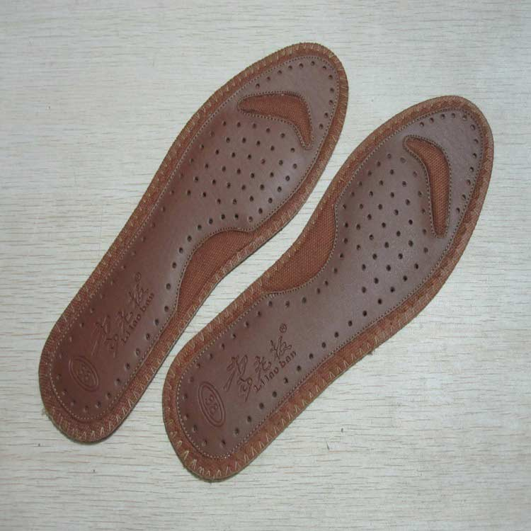 Perfumed Deodorant Antibacterial Leather Cushioning Insoles