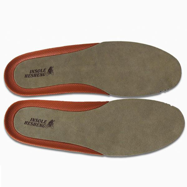 High Quality Men's Business Leather Shoes Insoles Brown