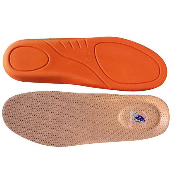 Men??s Comfortable Breathable Absorbent Leather Insoles