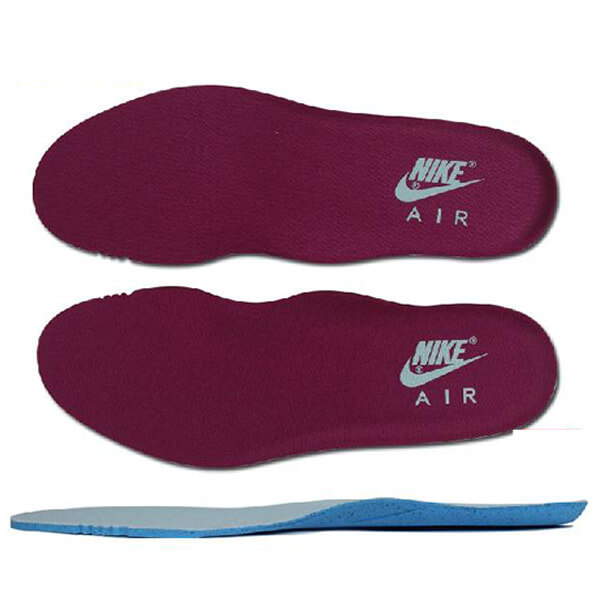 2014 New Breathable Insole Absorbent Insoles Purple