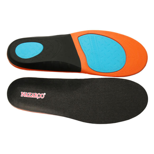 Running Climbing High Elastic PU Insoles for Men