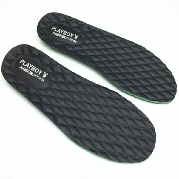 Playboy Men's Thick Natural latex Insoles Leather Shoe Pad