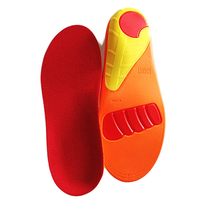 Replacement PU Pad With Gel Support Sports Insoles