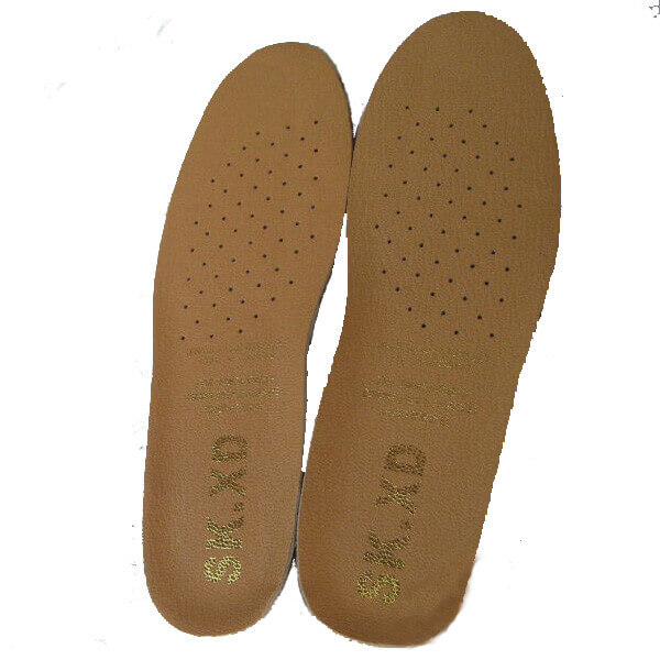 SK.XD Comfortable Shock Absorption Leather Insole