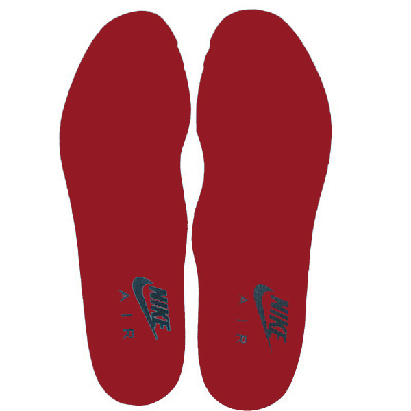 2014 New Running Insole Absorbent Insoles Red