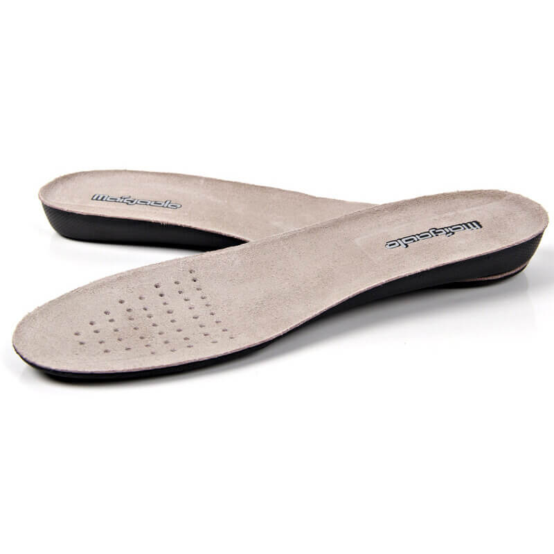 Soft Cowhide Leather EVA Increased Insoles 1.0CM 2.0CM 3.5CM