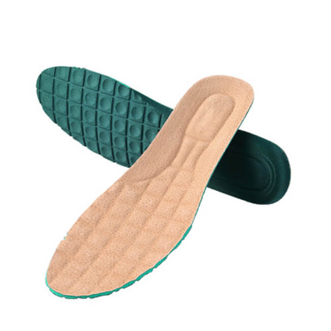 Soft Leather Sport Shoe Insoles Free Cutting For Men and Women