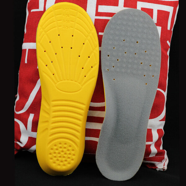 Breathable PU Shoes Insert Soft Shock Absorption Insole
