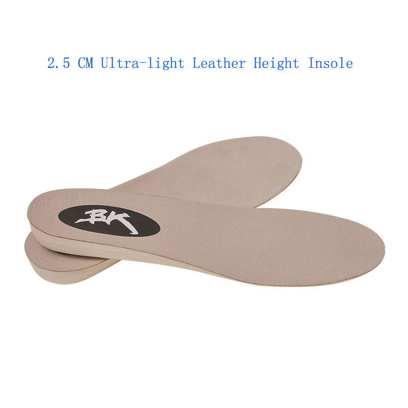 1.5 CM 2.5 CM 3.5 CM Ultra-light Leather Height Insoles