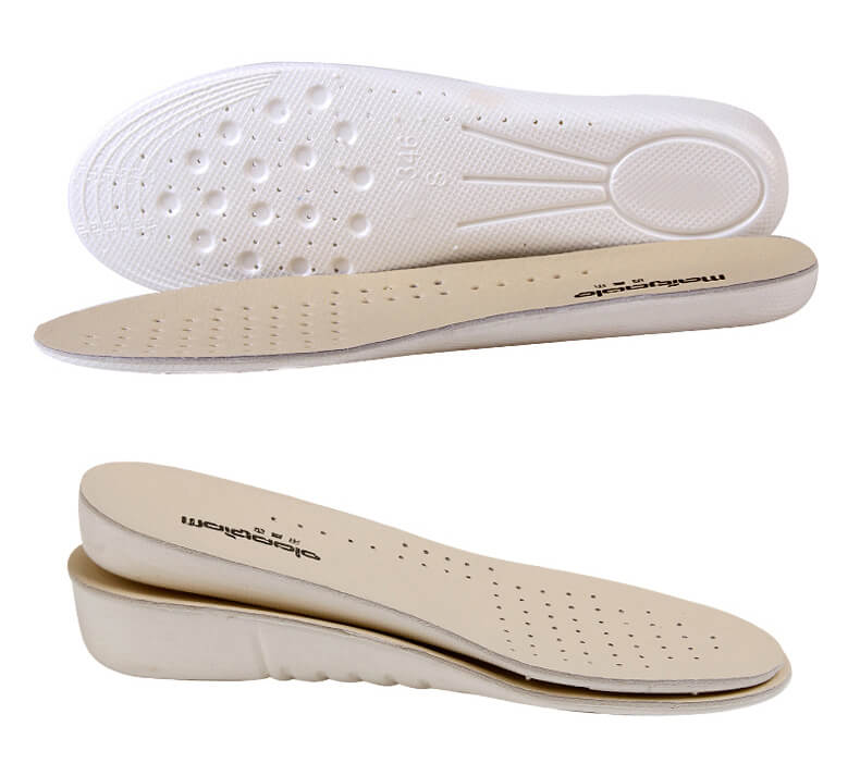 Soft Leather EVA Increased Insoles 1.0CM 2.0CM 3.5CM
