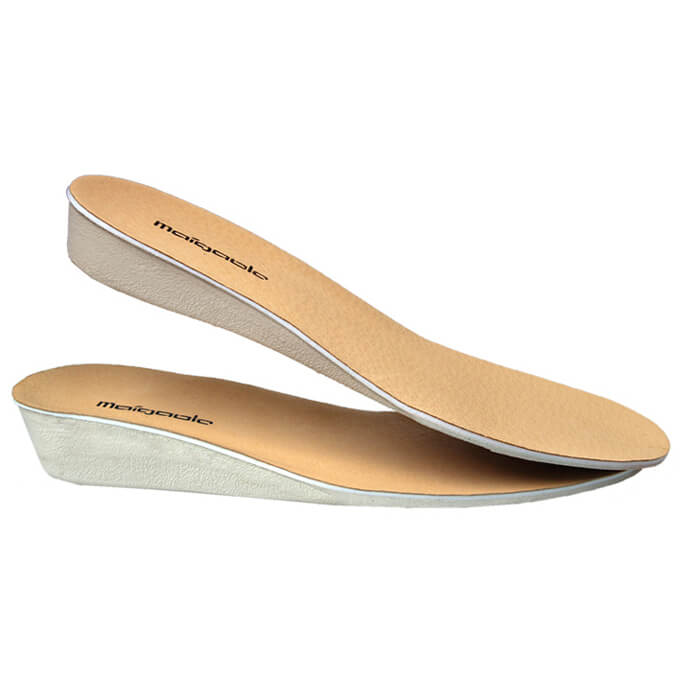 Comfortable Leather EVA Increased Insoles 1.5CM 2.5CM 3.5CM