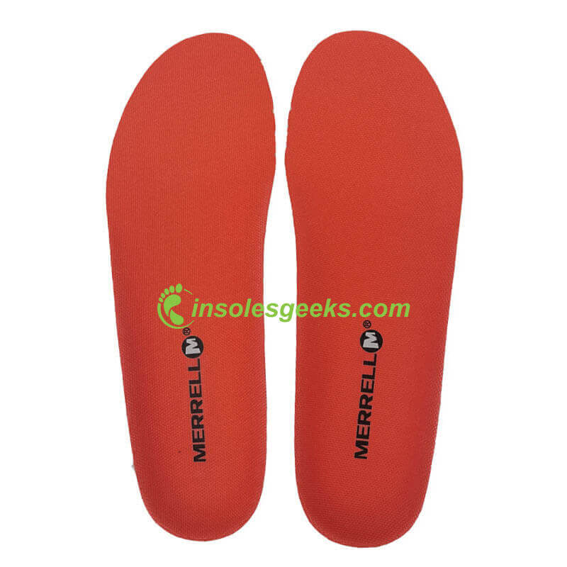 Replacement MERRELL EVA footbed Orange/blue/red/black/yellow shoes insoles
