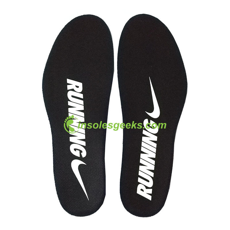 Replacement NIKE FREE RUNNING Ortholite Thin Insoles Black