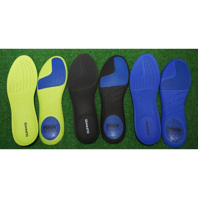 OUPOWER PORON Athlete Insoles for Football Soccer Shoes