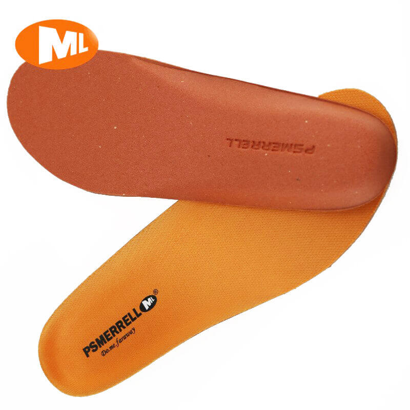 Replacement MERRELL Ortholite Air Cushion Insoles Orange