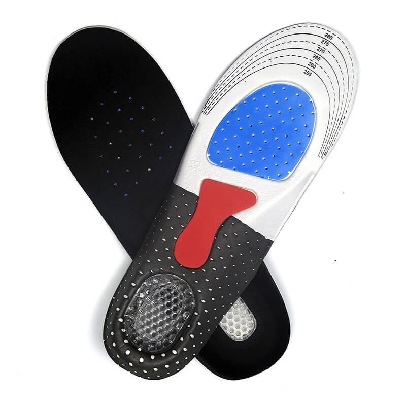 Comfortable Shockproof EVA Silicone Sport Shoes Insoles
