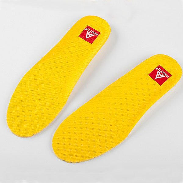 Comfortable Sport EVA Insoles Yellow Running Shoe Inserts